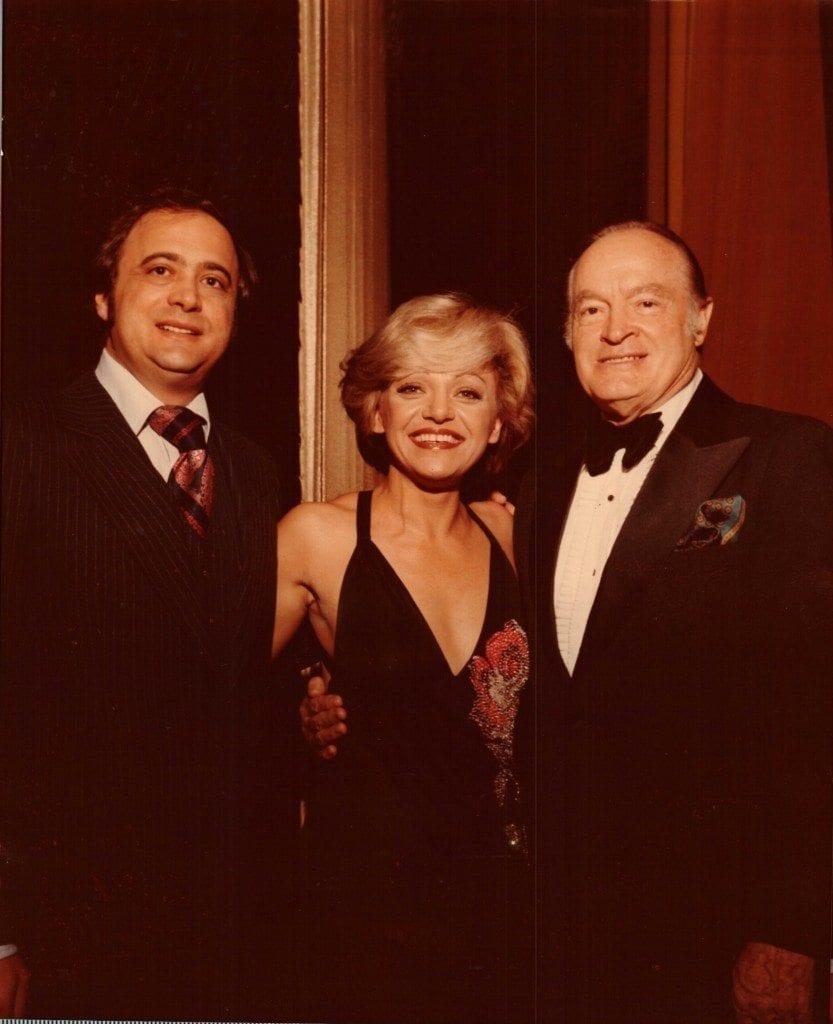 Bob and Carole Taran with legendary entertainer Bob Hope.